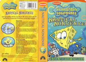 Nickelodeon's Spongebob Squarepants Nautical Nonsense VHS