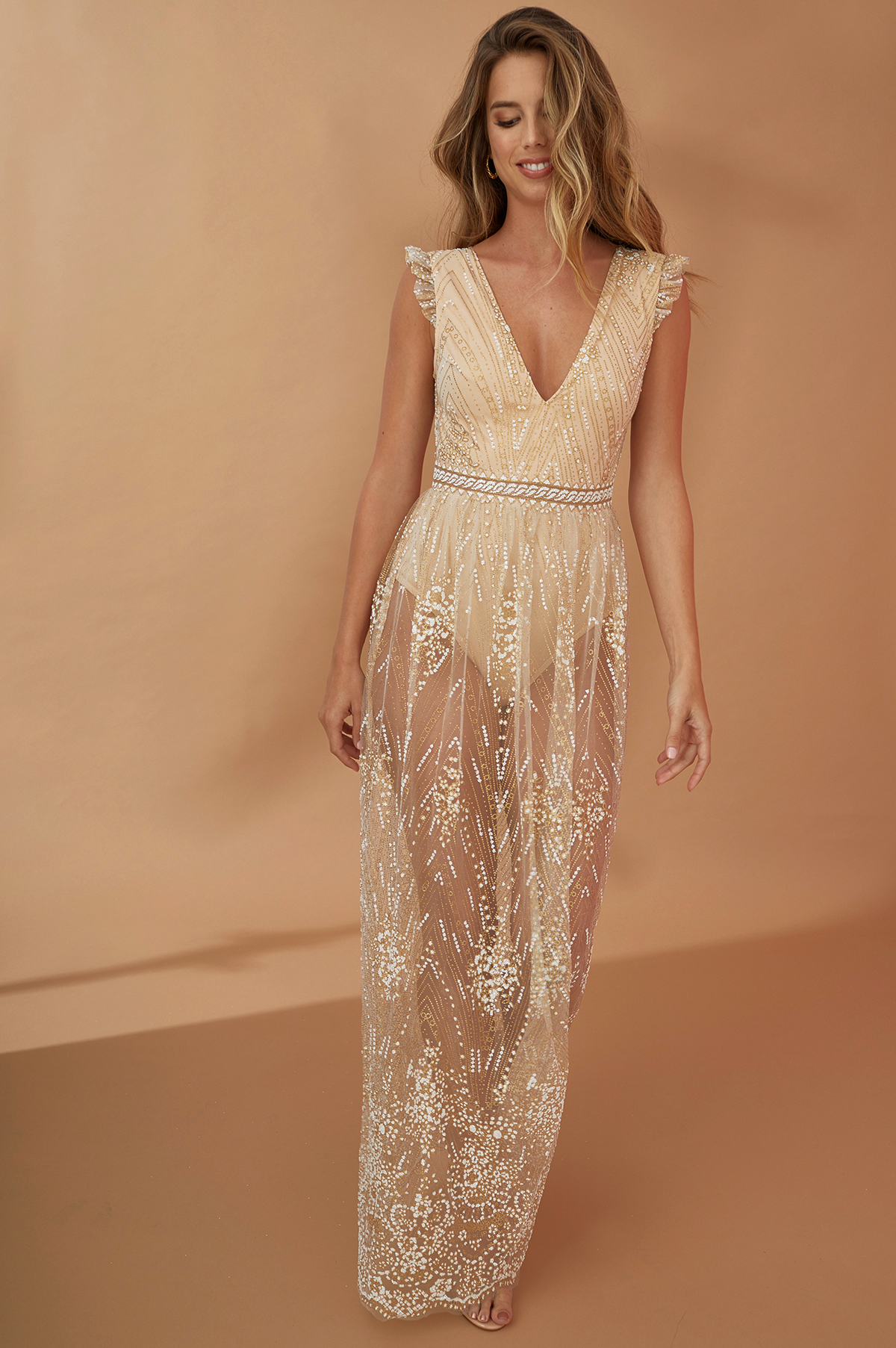 Oh my goddess maxi dress