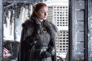 Sansa Stark 7x06 - Beyond the muro