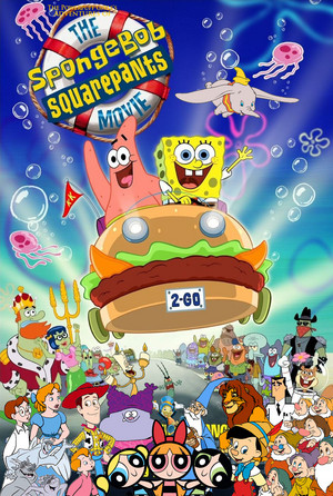 The Powerpuff Girls's Adventures of The Spongebob Squarepants Movie