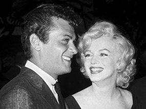 Marilyn And Tony Curtis