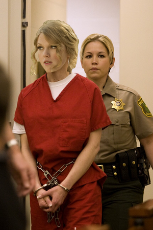 taylor swift in prison uniform by baharian d9bbpqf