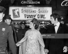 1968 Film Premiere Of Funny Girl