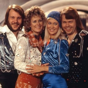 ABBA In Waterloo-Eurovision 1974 Winner