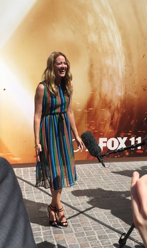 Amy Acker in LA for The Gifted