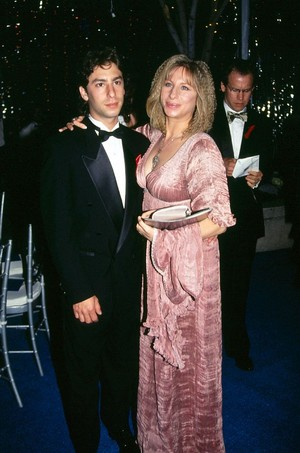 Barbra And Son, Jason Gould