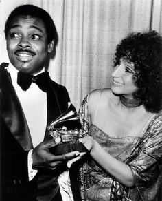Barbra Backstage With George Benson