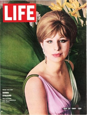 Barbra On The Cover Of Life Magazine