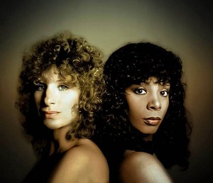 Barbra Streisand And Donna Summer