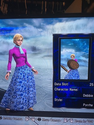 Debbie in Soul Calibur 5