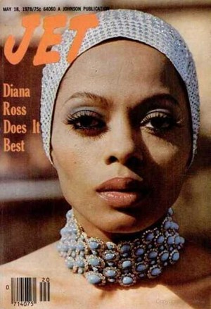 Diana Ross On The Cover Of Jet