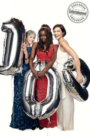 EW: Dead and Loving it! ~ Melissa McBride, Danai Gurira and Lauren Cohan