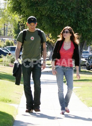 February 7, 2007 Wentworth Miller and Mariana Klaveno