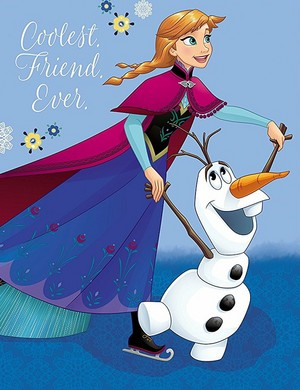 Frozen - Anna and Olaf