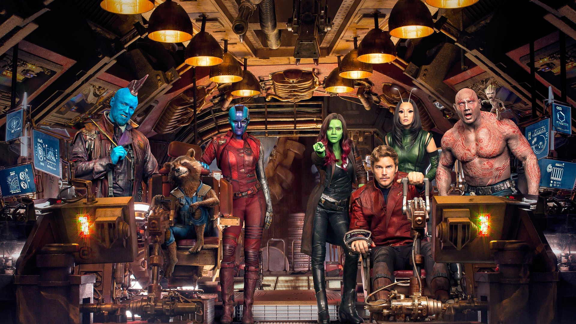 Guardians Of The Galaxy Vol 2 Cast Guardians Of The Galaxy