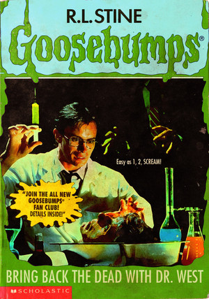 Horror as Goosebumps Covers - Re-Animator