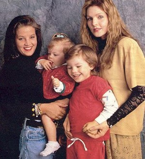 Lisa Marie And Her Family