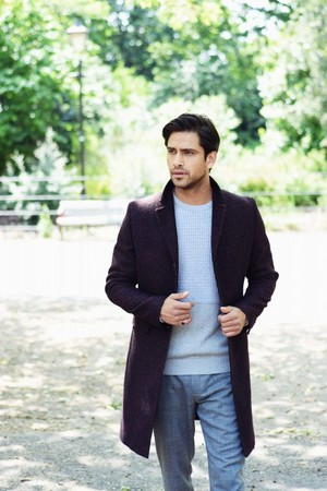Luke Pasqualino in Fault Magazine Photoshoot