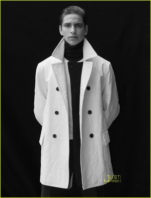Luke Pasqualino in Just Jared Photoshoot