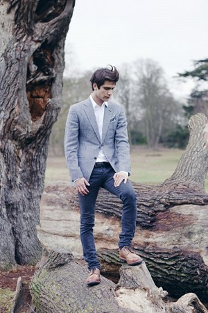 Luke Pasqualino in Out Magazine Photoshoot