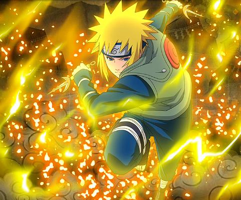 Minato Namikaze Yellow Flash of the Leaf naruto shippuuden 40783228 481 399