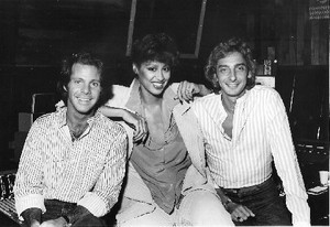 Phyllis Hyman With Barry Manilow And Ron Dante
