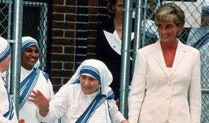 Princess Diana & Mother Teresa