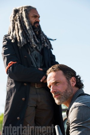 Season 8 Promotional picha ~ Ezekiel and Rick