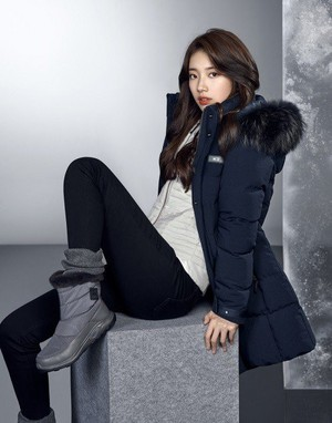 Suzy for Outdoor Brand 'K2' 2017 Winter Collection