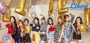 TWICE enjoy a party in group teaser image for 'Likey'