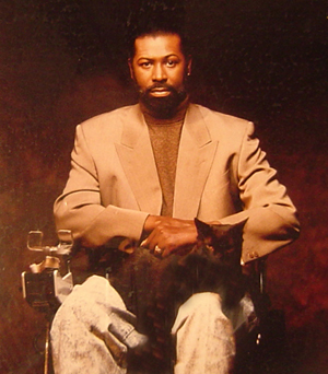 Teddy Pendergrass And His Cat