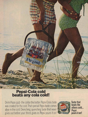 The Colder the Better Pepsi Ads