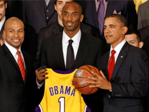 The President And The Lakers