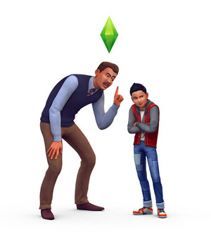 The Sims 4: Parenthood Render