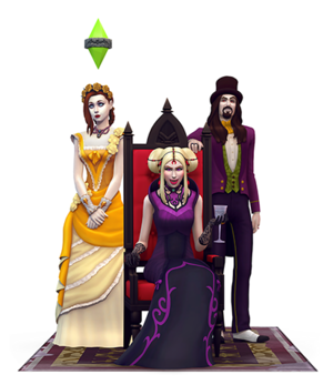 The Sims 4: ヴァンパイア Render