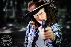 The Walking Dead Carl Grimes Season 8 Official Picture