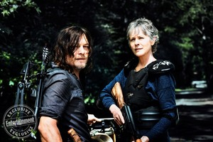 The Walking Dead Daryl Dixon and Carol Peletier Season 8 Official Picture