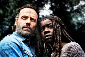 The Walking Dead Rick Grimes and Michonne Season 8 Official Picture