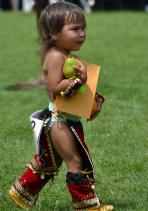 The littlest of warriors (Salamanca, New York)