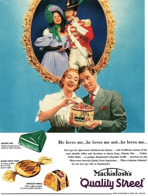 Vintage Candy Advertisements