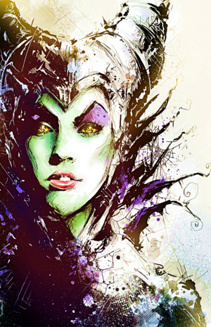 Walt Disney Fan Art - Maleficent