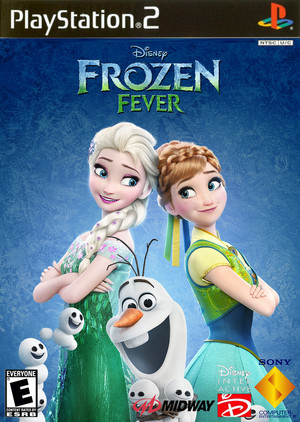Walt Disney's Frozen Fever (2003) PlayStation 2 cover art