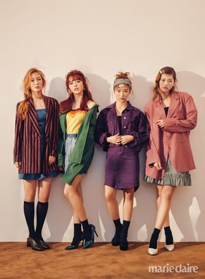 Weki Meki for Marie Claire Magazine October Issue