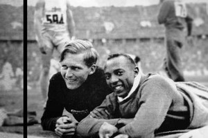 luz long and  jesse owens