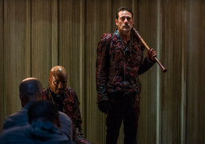 8x05 ~ The Big Scary U ~ Negan and Gabriel