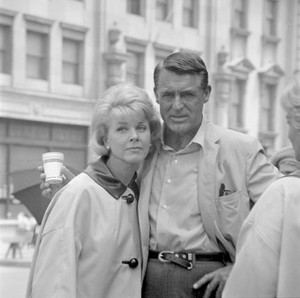 Cary Grant and Doris Day