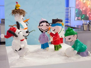 Charlie Brown Snow Party