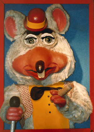 Chuck E. Cheese Alternate 2nd Gen Portrait Animatronic