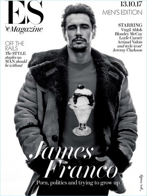 James Franco - ES Magazine Cover - 2017