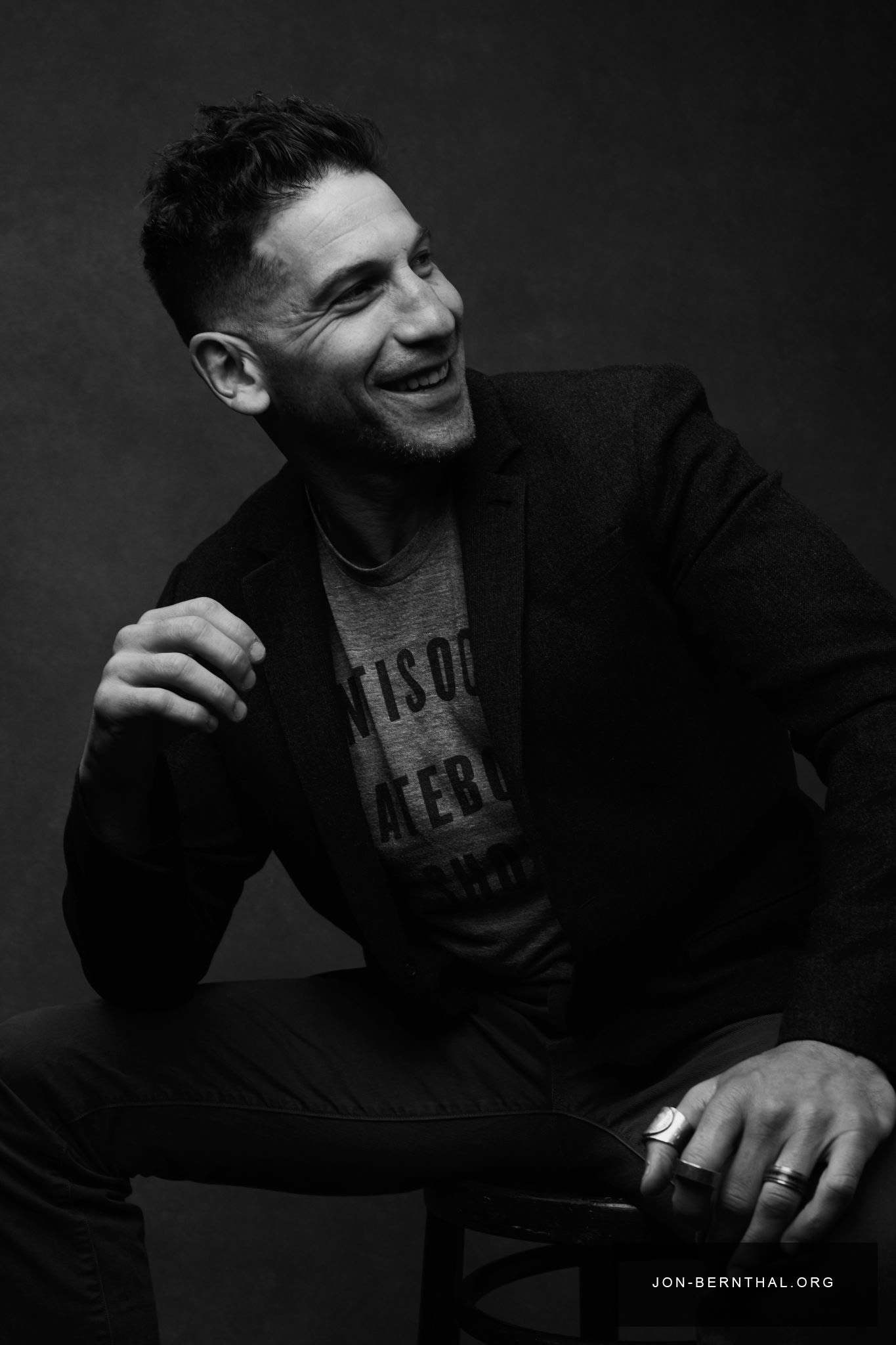 Jon Bernthal Tribeca Film Festival Portrait 2017 Jon